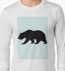 Bear silhouette  Long Sleeve T-Shirt