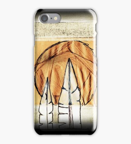 bird mountain #02 iPhone Case/Skin