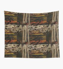 paper trees & pod birds  Wall Tapestry