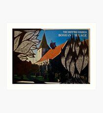 the squirrel of bosham village Art Print