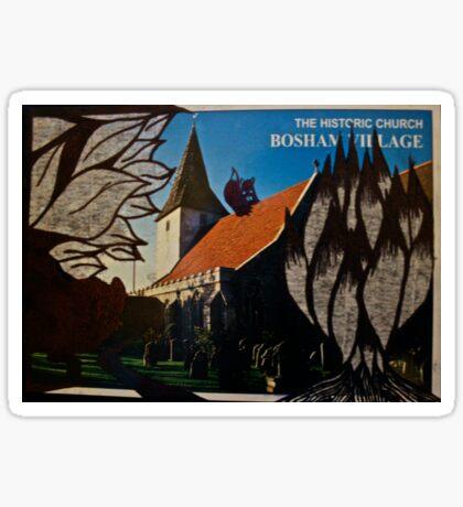 the squirrel of bosham village Sticker