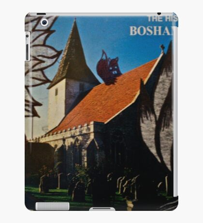 the squirrel of bosham village iPad Case/Skin