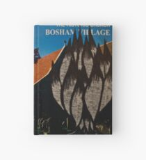 the squirrel of bosham village Hardcover Journal
