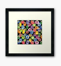 cute monsters Framed Print