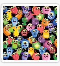 cute monsters Sticker
