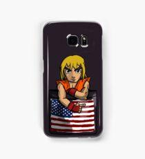 Street Fighter Pocket Pals - #2 Ken Samsung Galaxy Case/Skin