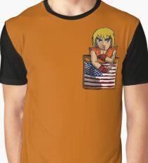 Street Fighter Pocket Pals - #2 Ken Graphic T-Shirt