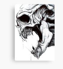 Skull Artwork Canvas Print