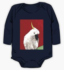 Sulphur Crested Cockatoo One Piece - Long Sleeve