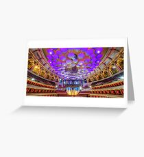 Royal Albert Hall Greeting Card