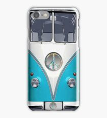 Retro, Nostalgic VW Hippie Van iPhone Case/Skin