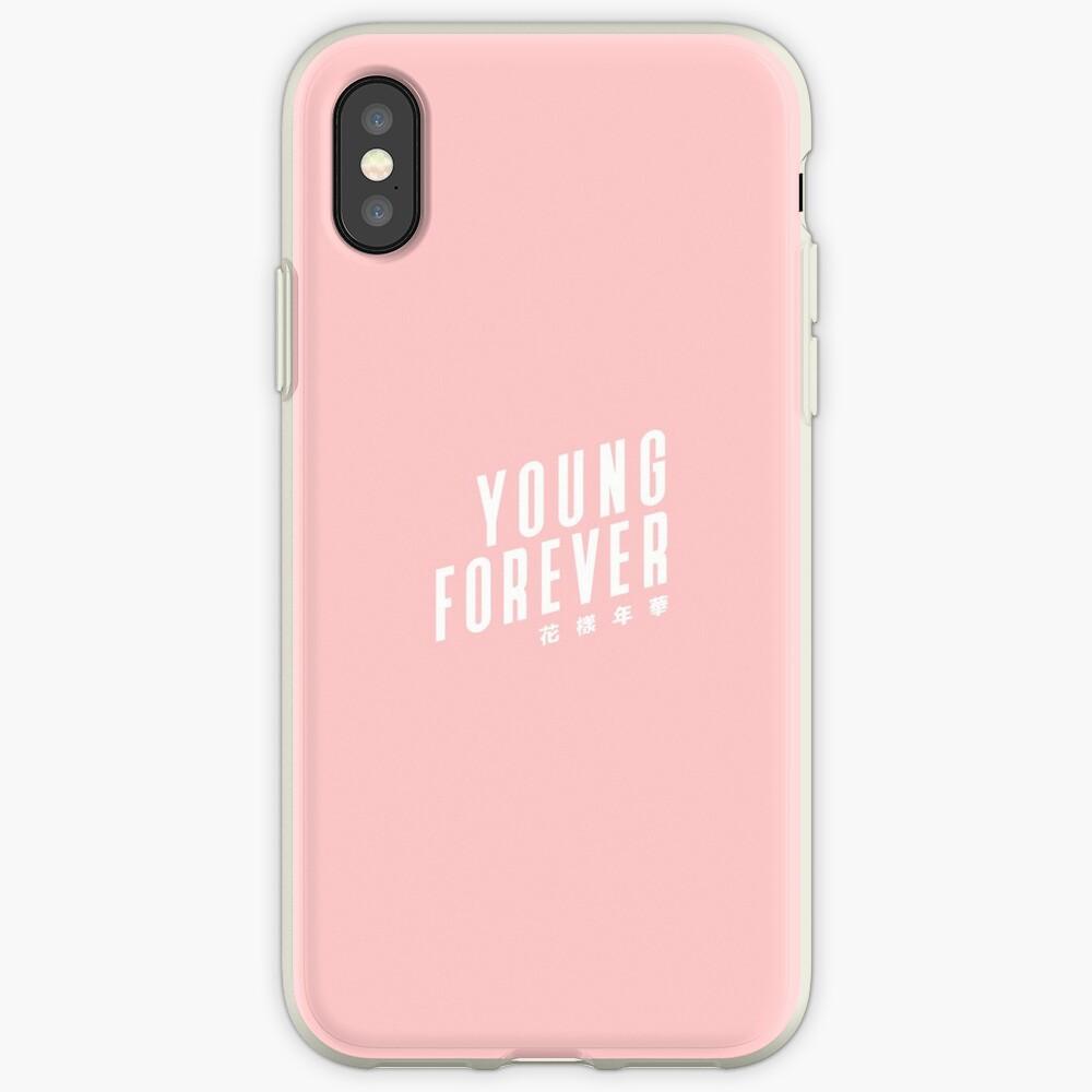 BTS Bangtan Boys Young Forever Vinilos y fundas para iPhone