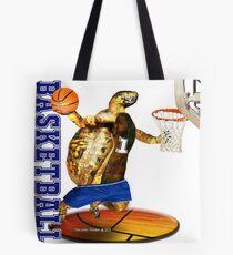 Turtle Basketball Player Tote Bag