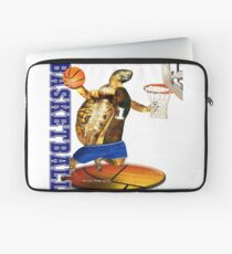Turtle Basketball Player Laptop Sleeve