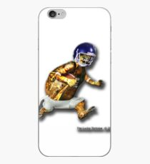 Turtle Football Player iPhone Case