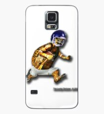 Turtle Football Player Case/Skin for Samsung Galaxy