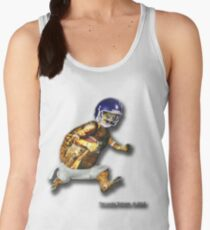 Turtle Football Player Women's Tank Top