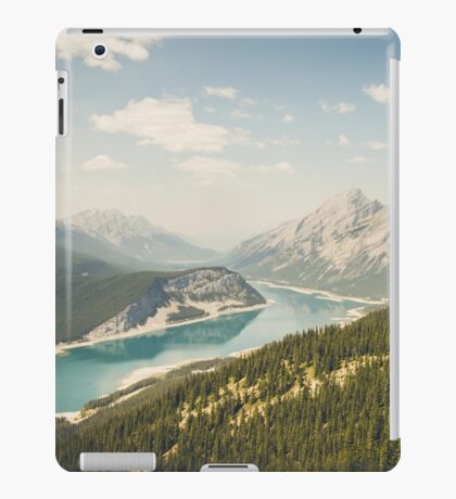 Spray Lakes iPad Case/Skin