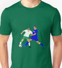 Seamus Coleman keeps Bosnia's Senad Lulic at bay Unisex T-Shirt