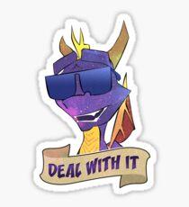 Spyro 'Deal With It!' Sticker