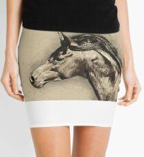 Arab Horse 2 Mini Skirt