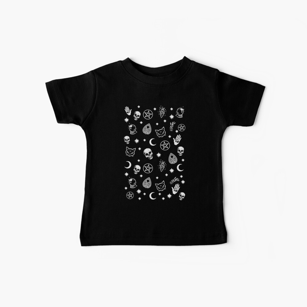 Witch Pattern Baby T-Shirt