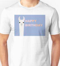 HAPPY BIRTHDAY LLAMA T-Shirt