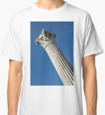 Classical Corinthian Column - Ancient Pompeii Graceful Beauty Left Classic T-Shirt