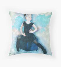 Ballet Student Throw Pillow