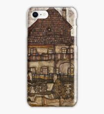 Egon Schiele - House with Shingle Roof Old House II 1915 iPhone Case/Skin