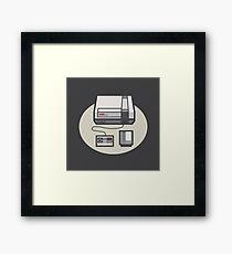 Retro Memories v1 Framed Print