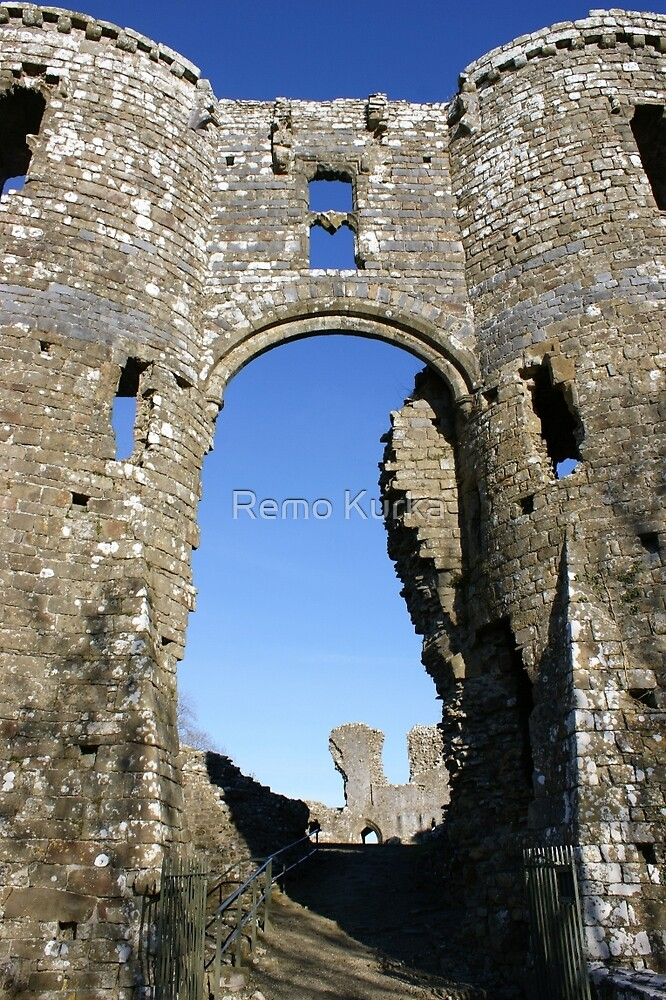 Castles of Wales, Welsh Castle, Ruins by Remo Kurka