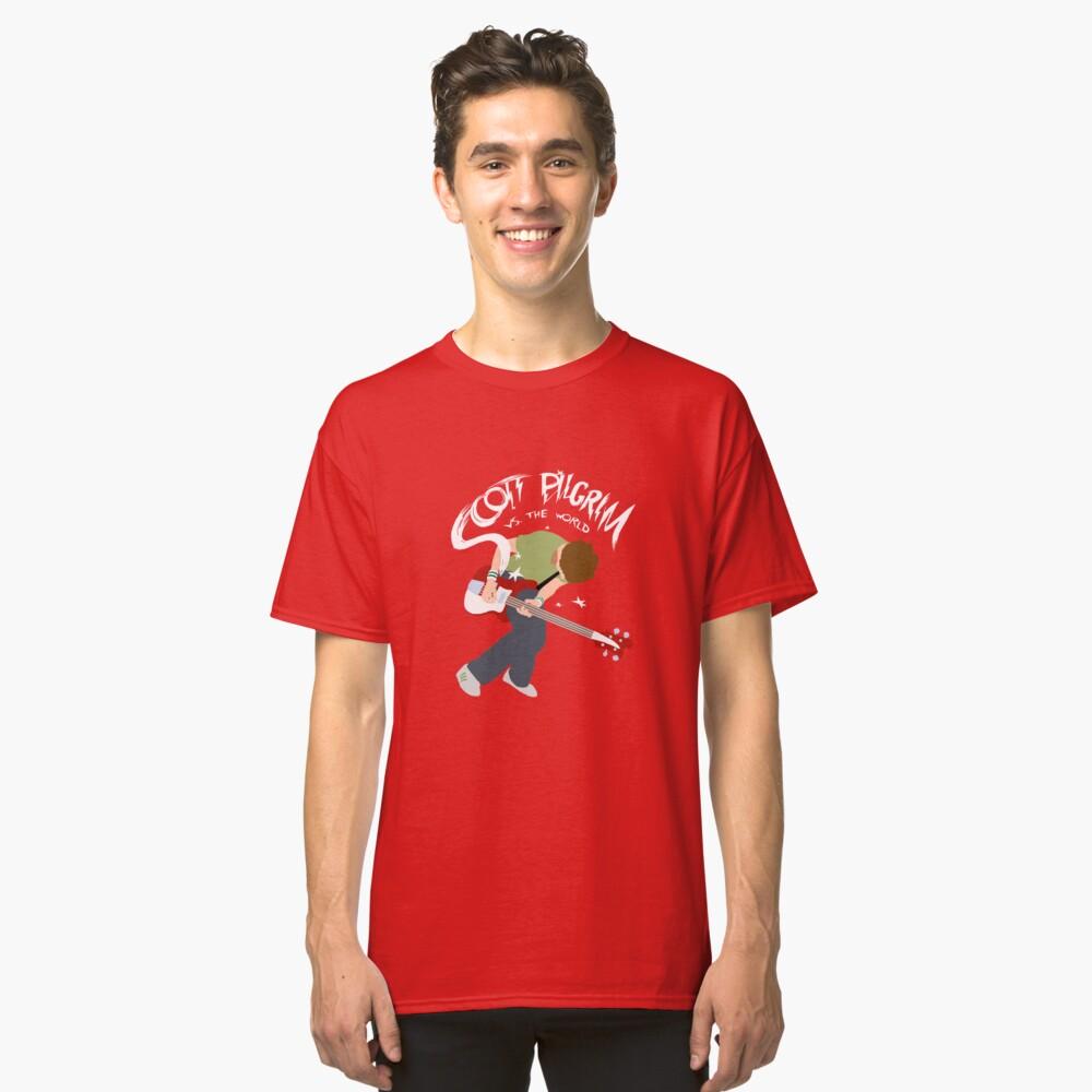 Camiseta clásicaScott Pilgrim contra el mundo Delante