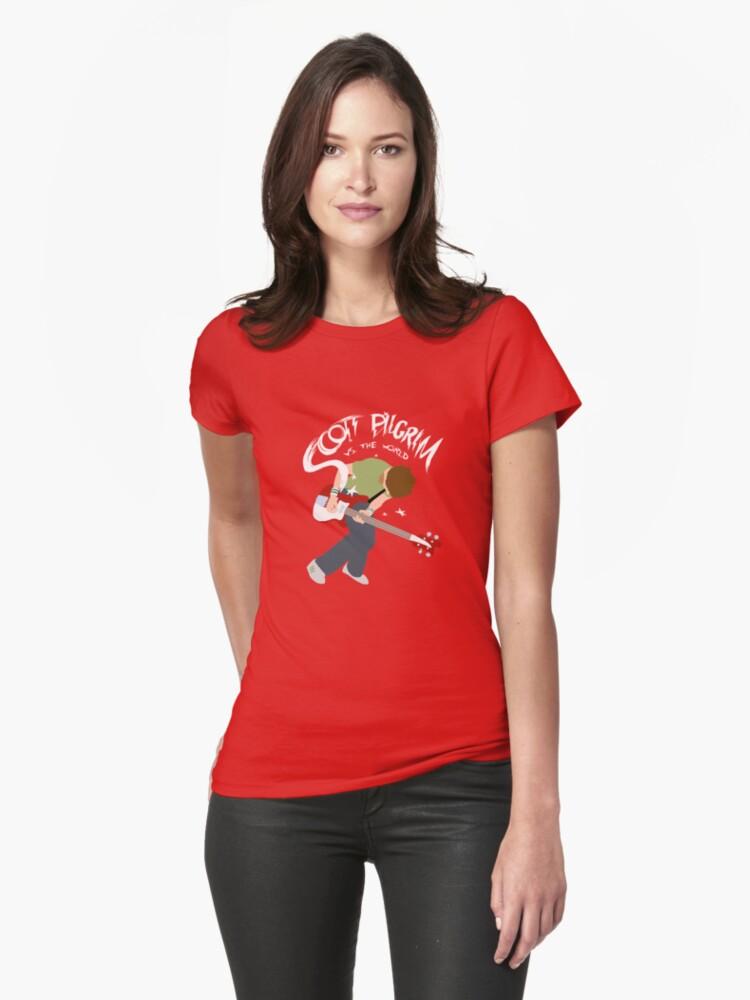 Scott Pilgrim vs the world Womens T-Shirt Front