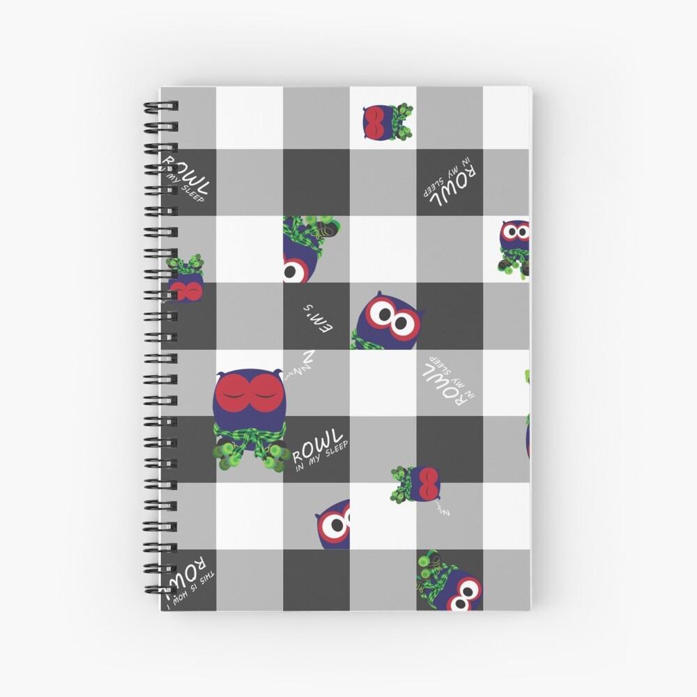 rOWL Spiral Notebook
