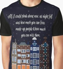 John Green - Thoughts From Places (Denmark) Graphic T-Shirt