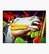 Sing A Horsey, Horsey Song Photographic Print
