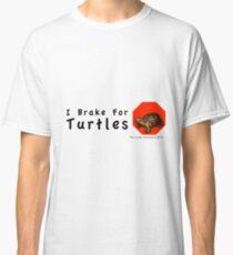 I Brake for Turtles Classic T-Shirt