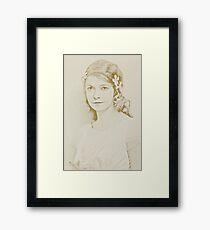 Lilian Framed Print