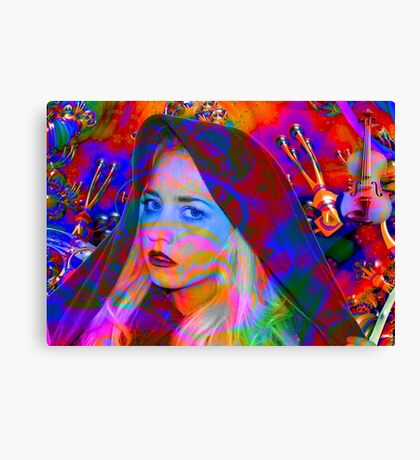Lost in the Music Canvas Print