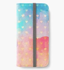 Sweet Love [watercolor] iPhone Wallet