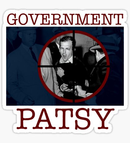 Government Patsy Sticker