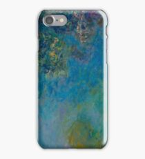 Claude Monet - Wisteria , Impressionism iPhone Case/Skin