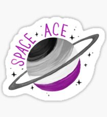 SPACE ACE SATURN Sticker