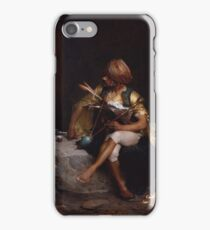 A Bashi-Bazouk , Charles Bargue iPhone Case/Skin