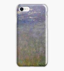 Claude Monet - Water Lilies (1915 - 1926)  Impressionism iPhone Case/Skin