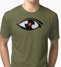 Eye Heart Vinyl (I Love Vinyl) Modern Conceptual Art Vinyl Records Music Tri-blend T-Shirt