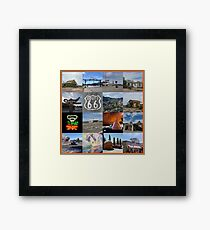 Get your kicks... Framed Print