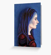 Illyria Portrait Greeting Card