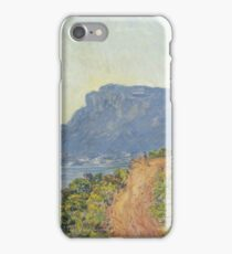 Claude Monet - La Corniche near Monaco  Impressionism iPhone Case/Skin